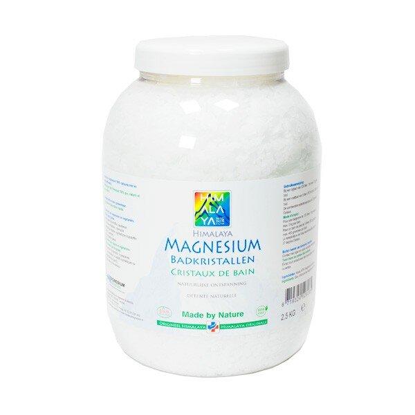 Magnesium badvlokken badzout 2.5 kg