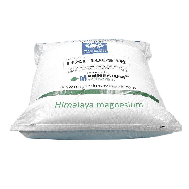 Magnesium badvlokken badzout zak 25 kg